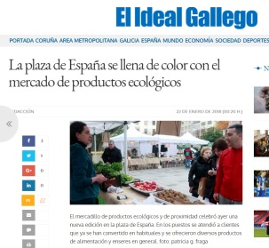 Noticia El Ideal Gallego 22-1-18